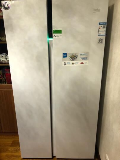 欧洲英国倍科(BEKO)  581升欧洲原装进口对开门冰箱 变频节能 触摸屏 EUG91640IW白色 原装进口变频 晒单图
