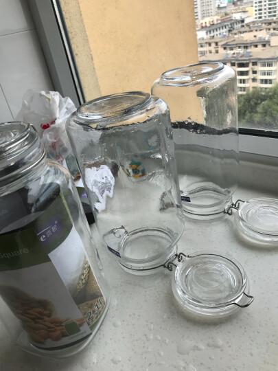 喜碧(scybe) 密封罐玻璃储物罐瓶蜂蜜瓶酵素瓶奶粉糖果罐泡酒瓶 兰仕黛800ml 晒单图