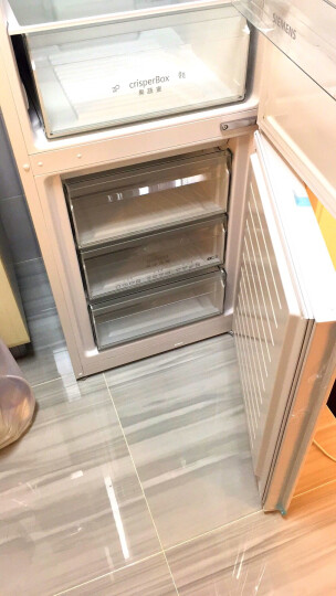 西门子(SIEMENS)321升 双门冰箱 风冷无霜  电脑温控 LED内显(白色) BCD-321W(KG32NV21EC) 晒单图