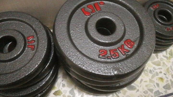 双牌 烤漆哑铃多功能杠铃50kg公斤礼盒装男士健身运动器材家用哑铃组合套装 晒单图