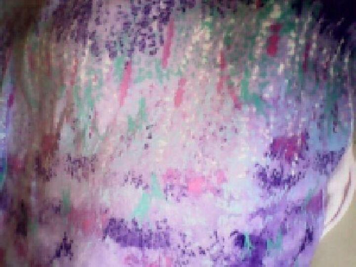 欧雅利格 加厚天鹅绒四件套保暖珊瑚绒法莱绒床单被套床上用品 绮丽花都 200*230cm被套四件套 晒单图