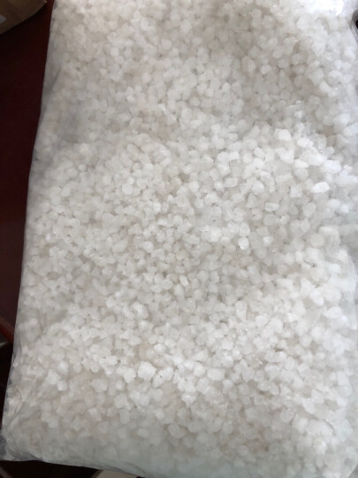 自盐堂(ZI YAN TANG) 自盐堂粗盐大粒盐海盐热敷盐颗粒天然盐  热敷理疗沐浴足浴! 小颗粒2斤(约0.3-0.5cm) 晒单图