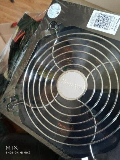 航嘉(Huntkey)额定600W JUMPER600电源(80PLUS白牌/单路45A/主动PFC/双管正激/全电压/背部走线) 晒单图