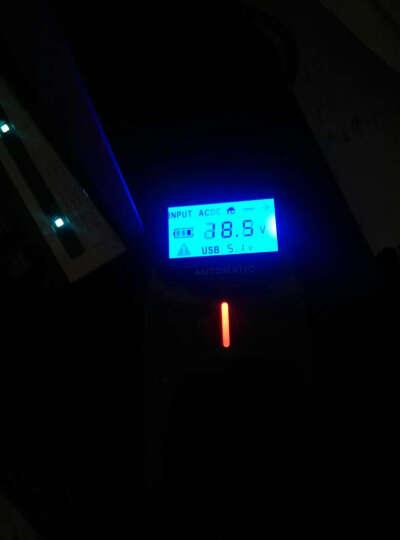 绿巨能(llano) 联想华硕惠普宏基戴尔三星笔记本多功能电源适配器LCD数显车载充电器 酷炫黑 晒单图
