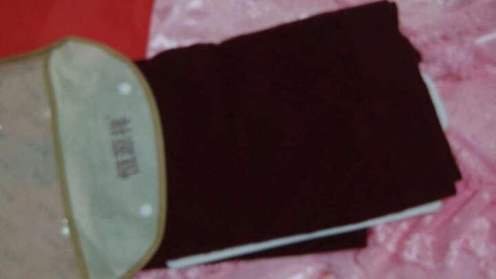 恒源祥羊毛衫男士毛衣纯色V领套头针织衫男9688 黑灰 L/175/110 晒单图
