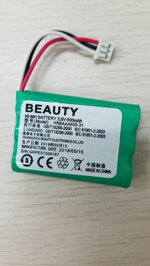捷典 华为无线固话无绳座机电池 适用HNBAAA600-31 F316 F317 F202 晒单图