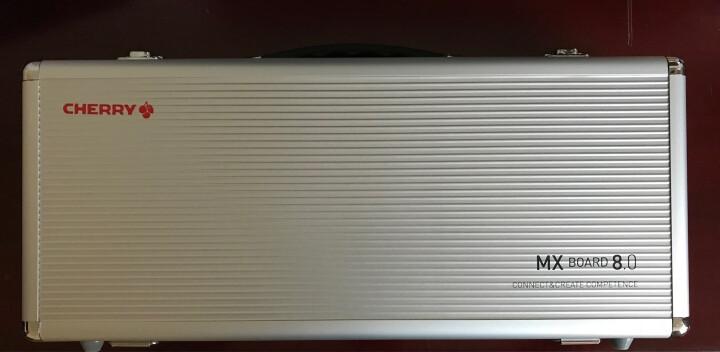 樱桃(CHERRY) MX Board 8.0 G80-3880HXAEU-0 背光游戏机械键盘 白色茶轴 绝地求生 吃鸡键盘 晒单图