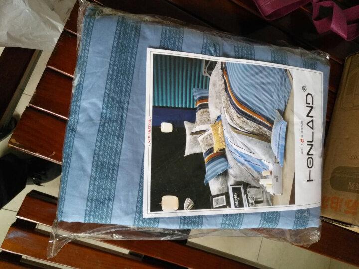 百富帝(byford)四件套纯棉家纺 床上用品床单枕套双人全棉斜纹套件1.5/1.8米床被套200*230  北美风情 晒单图