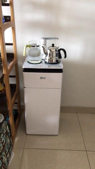 海斯曼(F;HESEME) 恒温保温饮水机智能烧水一体茶水吧 家用下置水桶茶水机 新款全自动茶吧机 优雅白 晒单图