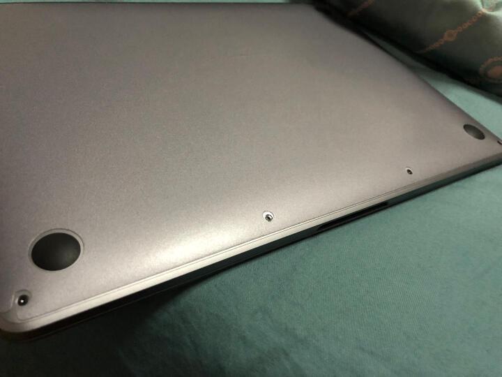 倍晶 mac苹果电脑macbook笔记本pro13全套保护air13.3外壳贴纸12键盘贴膜15屏幕 透明纤薄纳米银TPU键盘膜 12英寸MacBook(A1534) 晒单图