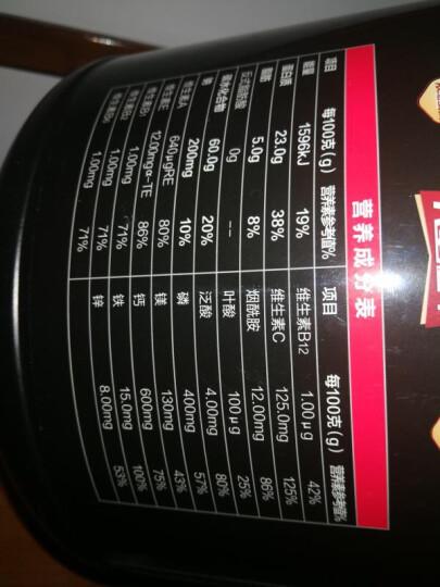 【6磅】汤臣倍健健乐多2720g乳清蛋白粉 瘦人健身增肥增重 乳清蛋白增肌 酪蛋白 【巧克力味】900g 增肌增重 晒单图