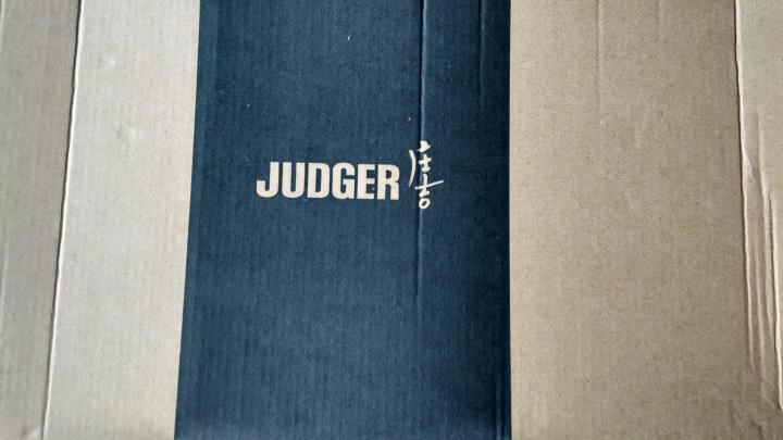 JUDGER庄吉 套装西服男上衣 商务正装男士便西服外套中年爸爸男装 蓝色条纹(单西上衣) 180/52B 晒单图