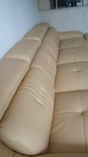 伊甸嘉园 真皮沙发头层牛皮客厅组合家具 现代简约大户型U型转角皮沙发 进口真皮 组合E 晒单图