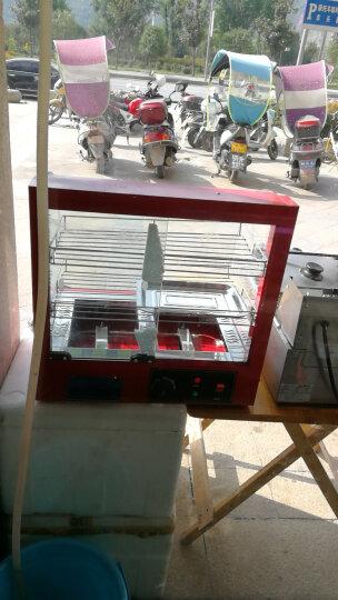 保温柜 商用食品台式展示柜家用保温箱蛋挞保温柜 中型三层展示柜 晒单图