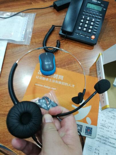 北恩(Hion) FOR600头戴式话务员电话耳麦呼叫中心客服专用电脑耳机 单耳 USB插头+音量调节麦克风静音(适用电脑) 晒单图