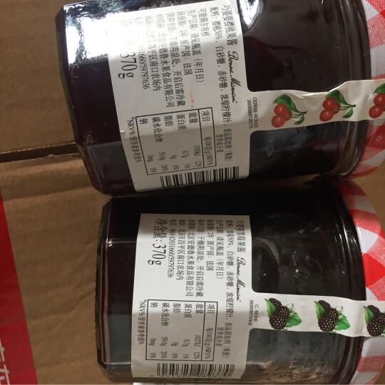 法国进口 巧婆婆 黑莓果酱370g 晒单图