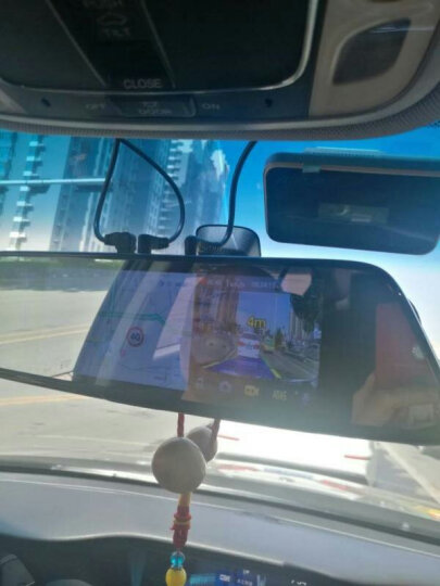 凌度 智能行车记录仪高清夜视双镜头流媒体前后录像倒车影像一体机 导航仪带电子狗后视云镜 8英寸流媒体+无光夜视前后双录+32G(套餐一) 晒单图