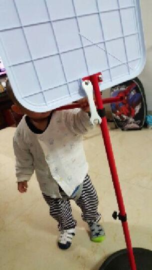 勾勾手 儿童篮球架户外玩具 室内外健身投篮架 可升降儿童篮球架 宝宝玩具篮球框 150cm铁框 晒单图