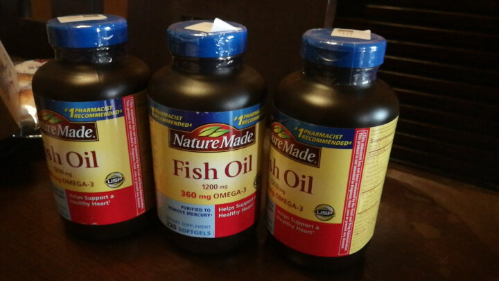 天维美(Nature Made)深海鱼油软胶囊220粒 调节三高降血脂降血压【鱼油预售至12.27】 鱼油220粒 3瓶装 晒单图
