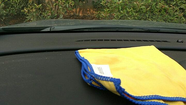 米其林洗车毛巾加厚吸水不掉毛汽车擦车巾加细纤维大号抹布套装 40*40双面加绒三条装 晒单图