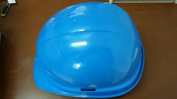 代尔塔/DELTAPLUS 102011 劳保安全帽 建筑工地防砸工厂施工男女防撞头盔 蓝色  1个 企业专享 晒单图