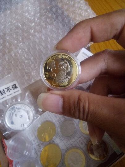 金永恒2016年猴年纪念币 生肖贺岁币 10元流通纪念币原卷拆品相硬币收藏 10枚带小圆盒 晒单图