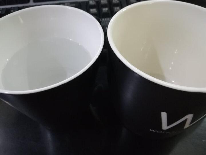 原创木柄陶瓷杯 水杯 创意马克杯 咖啡杯 牛奶杯 情侣杯 对杯 大号办公杯带盖勺子茶隔过滤 定制订做 亮光红 色配陶瓷茶隔盖子 晒单图