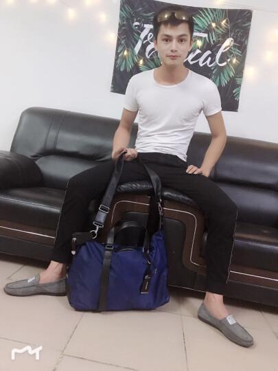 瑞士瑞戈旅行包男女行李包手提包旅游包旅行袋斜挎包大容量出差包运动包健身包 黑色|可手提斜挎 晒单图