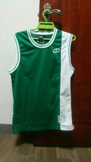 斯伯丁Spaldin篮球服渐变色时尚比赛休闲无袖背心男款20021-09 L 晒单图