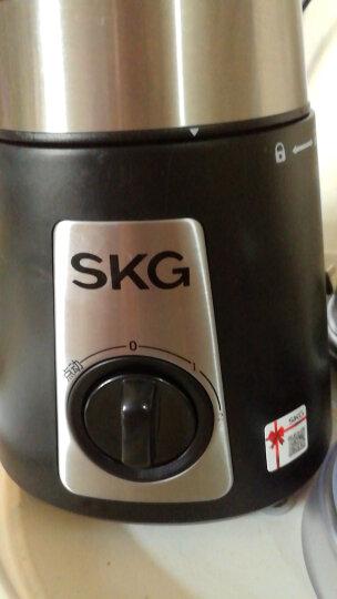SKG 料理机家用榨汁机多功能辅食绞肉榨汁研磨1290 黑色 晒单图