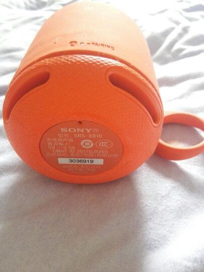 索尼(SONY) SRS-XB10 无线蓝牙音箱 重低音炮 便携迷你防水户外运动小音响 手机电脑 红色 晒单图