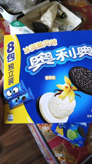 奥利奥冰淇淋夹心饼干香草味318g 晒单图