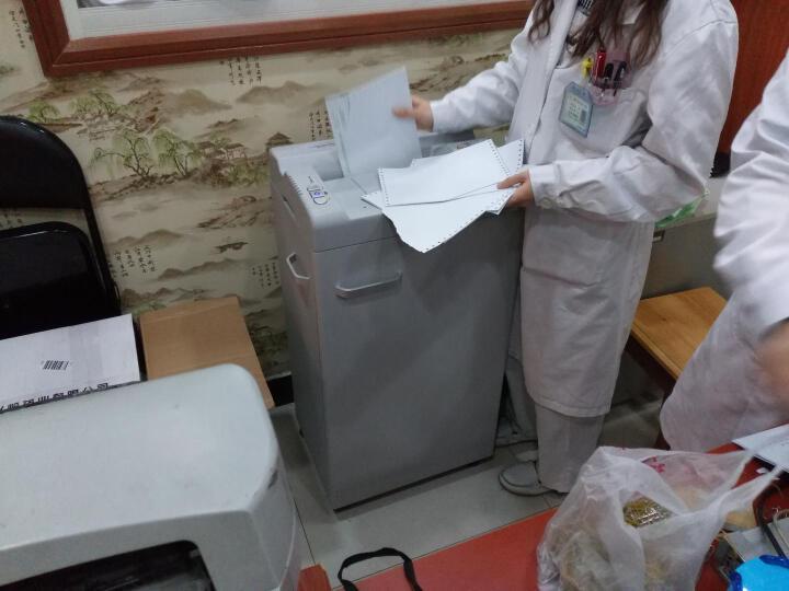 GBC杰必喜 碎纸机办公连续两小时不停机 双开门大容量多功能专业静音粉纸机 大功率22张 66c 60L 晒单图