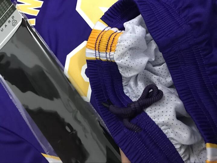 篮球服运动套装男19新赛季成人儿童球衣比赛队服训练背心DIY印字印号团购定制 湖R23号詹姆S紫 童装XXXS(130-140) 晒单图