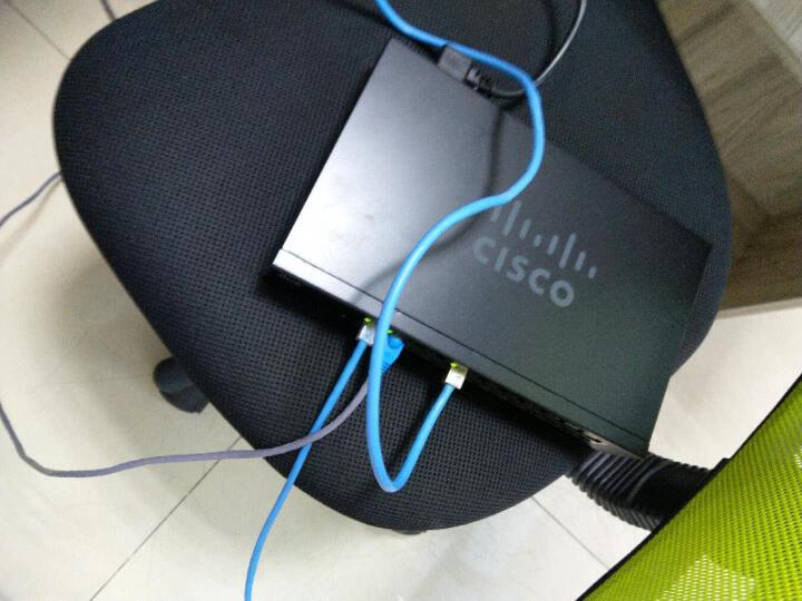 思科(Cisco)SF95-24 24口 百兆企业级交换机 晒单图
