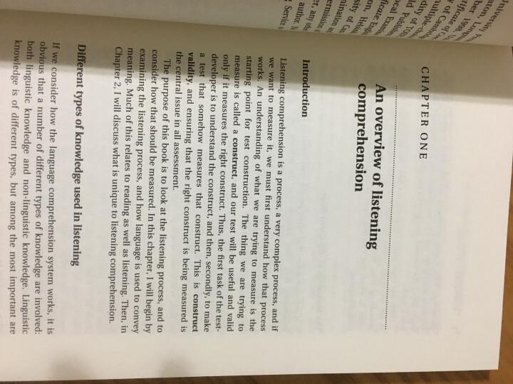 听力评价(剑桥英语教师丛书) 晒单图