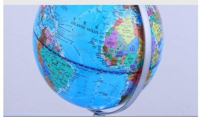 家舒乐  20CM学生教学地球仪高清中小号儿童书房办公室摆件地图 20CM地球仪 晒单图