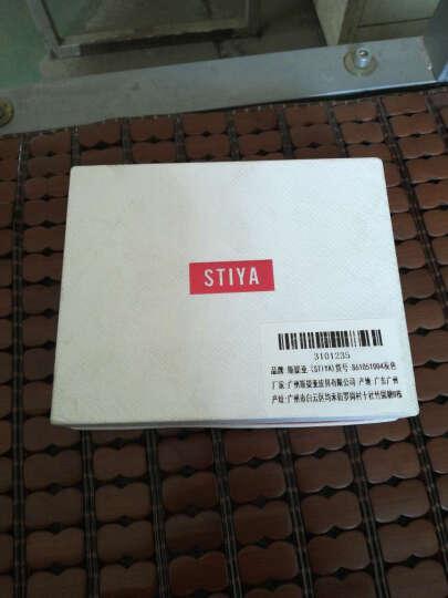 斯提亚/STIYA 女士钱包 新款晚宴手拿包钥匙包短款牛皮钱夹女款卡包小零钱包86S3051004灰色 晒单图