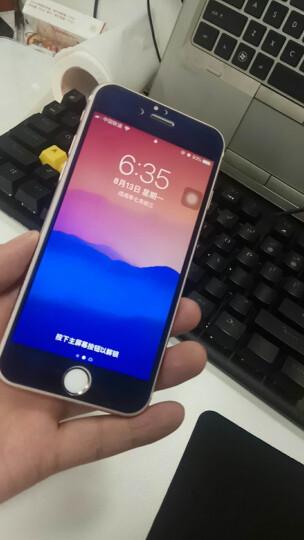 第一季 华为荣耀畅玩7 钢化膜 手机保护膜 高清防指纹 玫瑰金前膜+背膜4.7英寸 晒单图