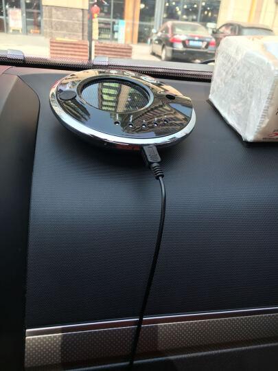 利拓(LI TUO)  太阳能车载空气净化器汽车负离子氧吧 香薰加湿器 激情红 晒单图