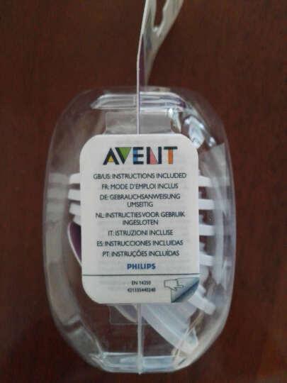 飞利浦新安怡 法国进口 AVENT 宽口径自然新生儿玻璃奶瓶4oz/120毫升奶嘴0月+  高纯净玻璃 SCF671/13 晒单图