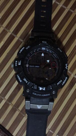 迪士尼(Disney)手表男学生 电子表防水户外运动男士 双显夜光青少年男表儿童手表MK-15052B 晒单图