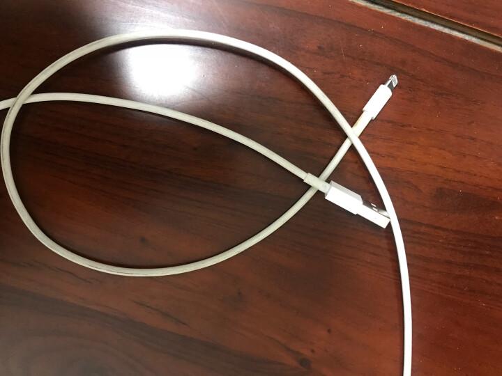 品胜(PISEN)苹果快充版数据/充电线 适用于苹果Xs Max/XR/X/8Plus/6s/7/8 ipad air/pro 1.5米白色 晒单图