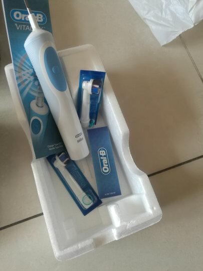 博朗 欧乐B(Oralb)电动牙刷头 3支装 多角度清洁型 适配成人2D/3D全部型号 EB50-3 晒单图