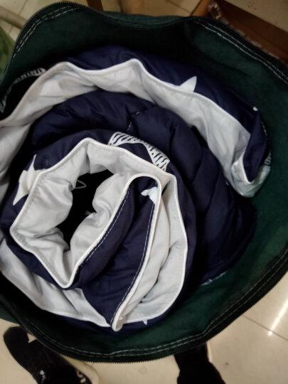 雅鹿·自由自在 被子家纺 加厚保暖透气秋冬天棉被 羽丝绒单双人轻柔被芯 150*200cm 重量4斤 璀璨星空 晒单图