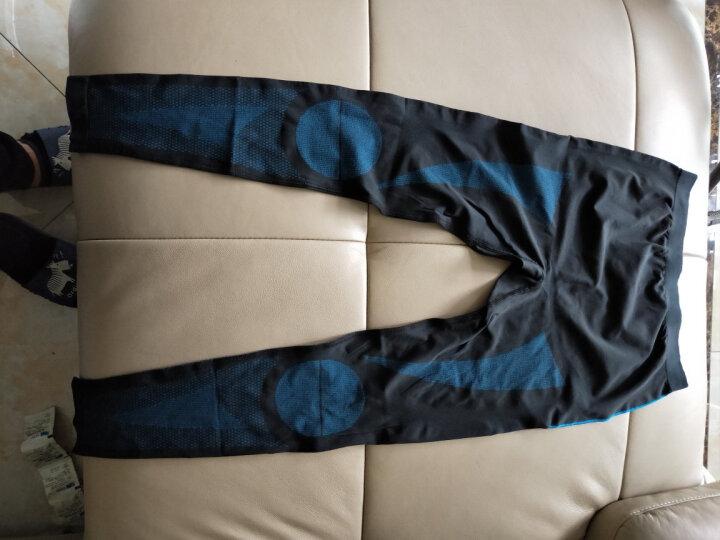 伯希和(Pelliot) 秋冬户外运动保暖情侣功能内衣 男女款排汗内衣裤套装1856 女黑色 XL 晒单图
