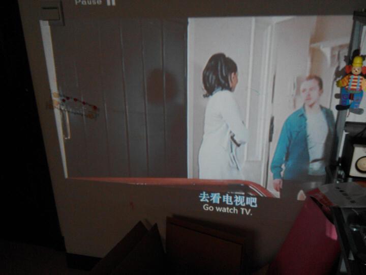 福满门(Fumen) B100AA 家用投影仪 手机投影仪 高清LED投影机 无屏电视小型家庭影院 白色 无线同屏 晒单图