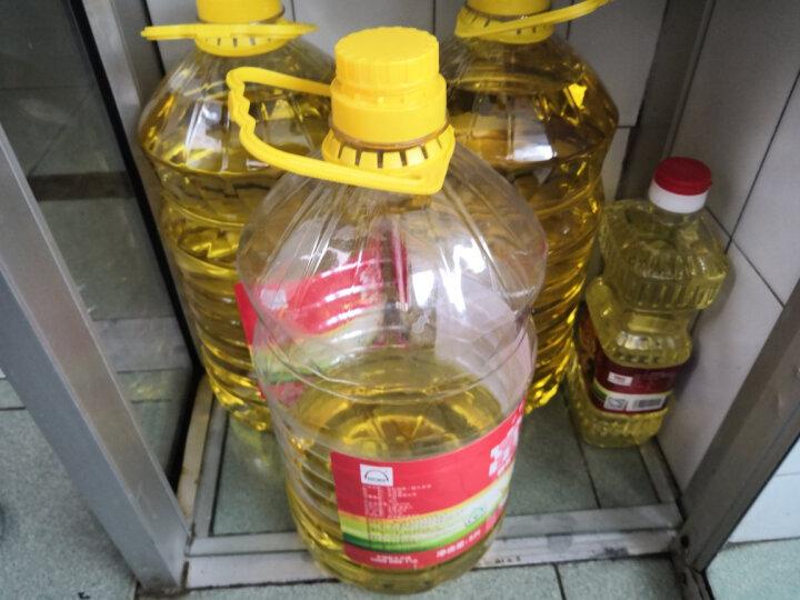 富虹 非转基因  一级 大豆油 食用油 0.9L 晒单图