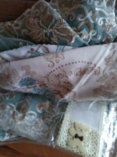 温恋 挂式格力空调罩布艺蕾丝 空调套子防尘罩挂机罩子套 牡丹紫 (1.5p-2p)86-94内 晒单图