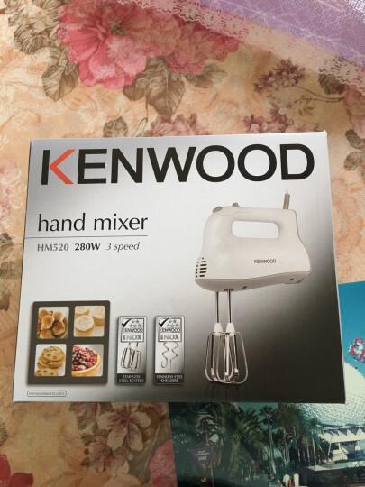 凯伍德(KENWOOD) HM520电动打蛋器 家用烘焙奶油打发器 白色 达人力荐款 晒单图